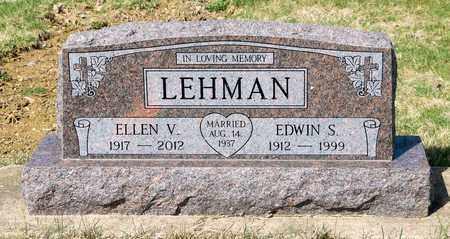 LEHMAN, EDWIN S - Wayne County, Ohio | EDWIN S LEHMAN - Ohio Gravestone Photos