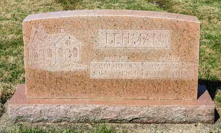 LEHMAN, CALVIN R - Wayne County, Ohio | CALVIN R LEHMAN - Ohio Gravestone Photos