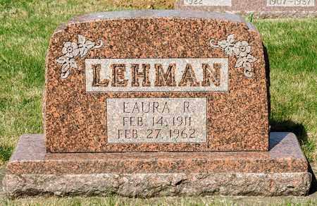 LEHMAN, LAURA R - Wayne County, Ohio | LAURA R LEHMAN - Ohio Gravestone Photos