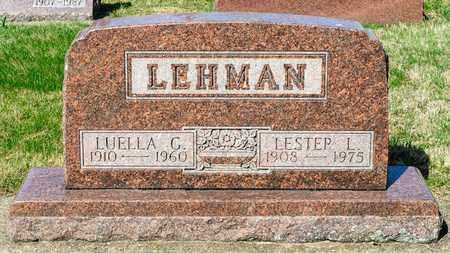GERBER LEHMAN, LUELLA - Wayne County, Ohio | LUELLA GERBER LEHMAN - Ohio Gravestone Photos