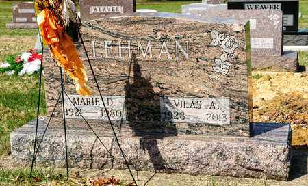 LEHMAN, MARIE D - Wayne County, Ohio | MARIE D LEHMAN - Ohio Gravestone Photos