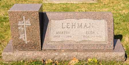 LEHMAN, ELDA L - Wayne County, Ohio | ELDA L LEHMAN - Ohio Gravestone Photos