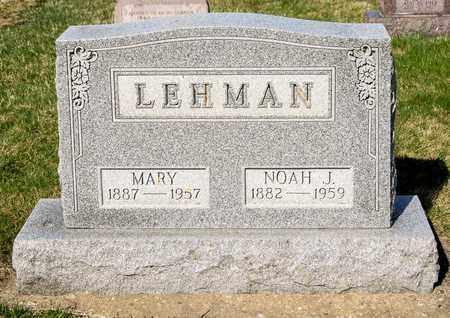 LEHMAN, MARY - Wayne County, Ohio | MARY LEHMAN - Ohio Gravestone Photos