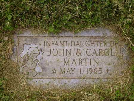 MARTIN, INFANT DAUGHTER - Wayne County, Ohio | INFANT DAUGHTER MARTIN - Ohio Gravestone Photos