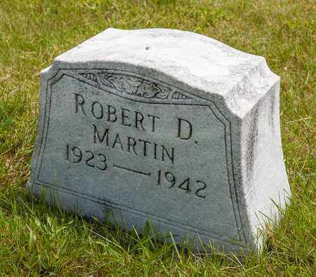 MARTIN, ROBERT D. - Wayne County, Ohio | ROBERT D. MARTIN - Ohio Gravestone Photos