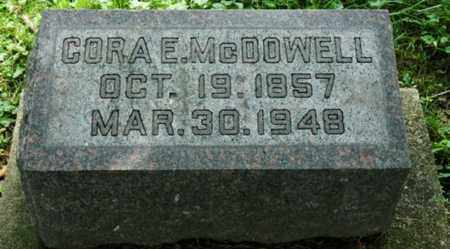 MCDOWELL, CORA E. - Wayne County, Ohio | CORA E. MCDOWELL - Ohio Gravestone Photos