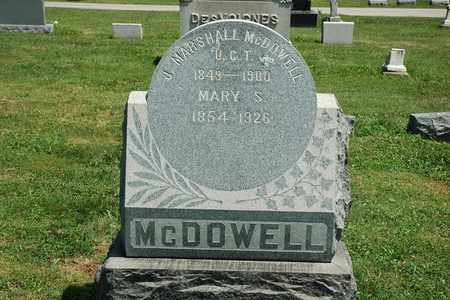 MCDOWELL, MARY S. - Wayne County, Ohio | MARY S. MCDOWELL - Ohio Gravestone Photos