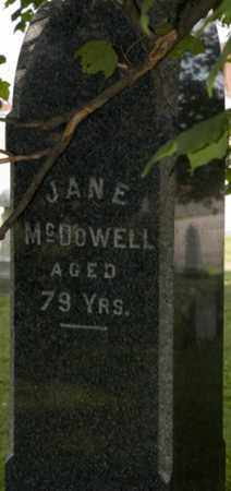 MCDOWELL, JANE - Wayne County, Ohio | JANE MCDOWELL - Ohio Gravestone Photos