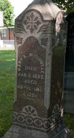 MCDOWELL, MARY ANN - Wayne County, Ohio   MARY ANN MCDOWELL - Ohio Gravestone Photos