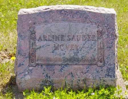 SAUDER MCVEY, ARLINE - Wayne County, Ohio | ARLINE SAUDER MCVEY - Ohio Gravestone Photos