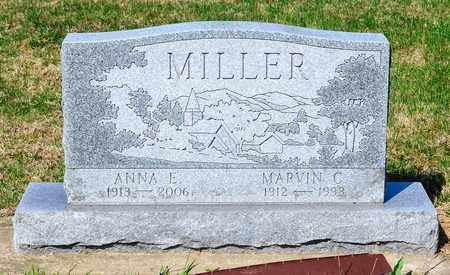 MILLER, ANNA E - Wayne County, Ohio | ANNA E MILLER - Ohio Gravestone Photos