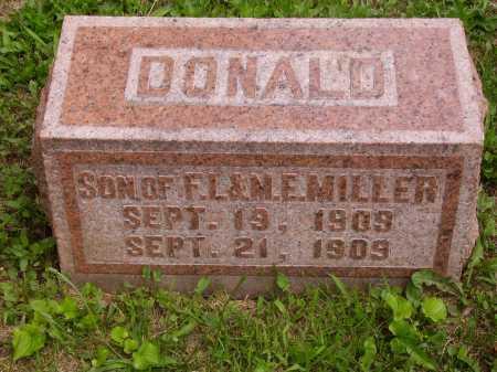 MILLER, DONALD - Wayne County, Ohio | DONALD MILLER - Ohio Gravestone Photos