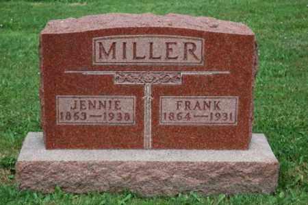 MOORE MILLER, JENNIE - Wayne County, Ohio | JENNIE MOORE MILLER - Ohio Gravestone Photos