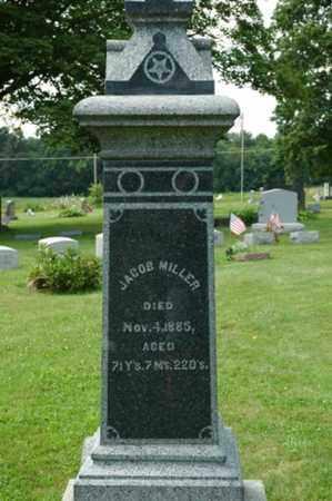 MILLER, JACOB - Wayne County, Ohio | JACOB MILLER - Ohio Gravestone Photos