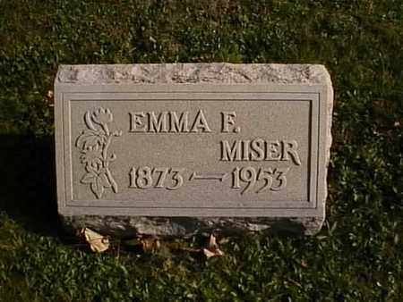 MISER, EMMA F. - Wayne County, Ohio | EMMA F. MISER - Ohio Gravestone Photos