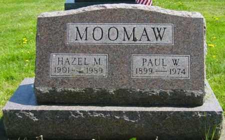 MOOMAW, PAUL WILLIAM - Wayne County, Ohio | PAUL WILLIAM MOOMAW - Ohio Gravestone Photos
