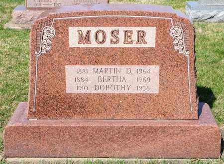MOSER, DOROTHY - Wayne County, Ohio | DOROTHY MOSER - Ohio Gravestone Photos