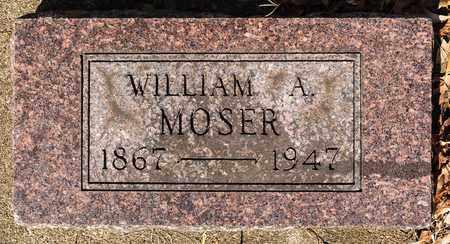 MOSER, WILLIAM A - Wayne County, Ohio | WILLIAM A MOSER - Ohio Gravestone Photos
