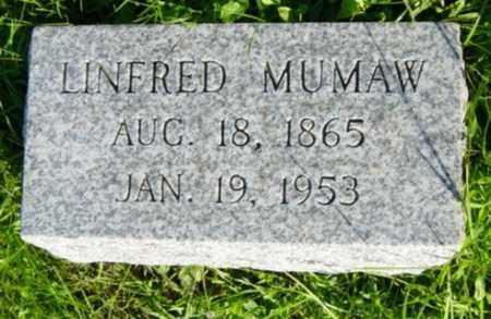 MUMAW, LINFRED - Wayne County, Ohio | LINFRED MUMAW - Ohio Gravestone Photos