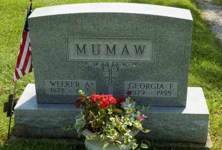 MUMAW, WELKER A. - Wayne County, Ohio | WELKER A. MUMAW - Ohio Gravestone Photos