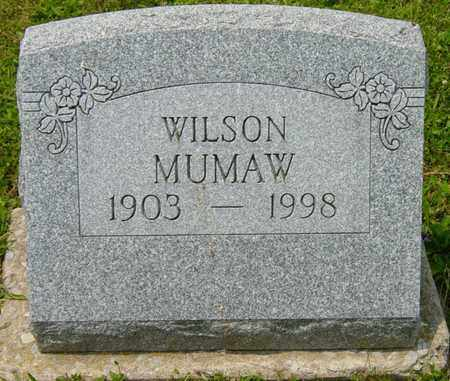 MUMAW, WILSON - Wayne County, Ohio | WILSON MUMAW - Ohio Gravestone Photos