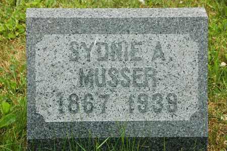 MUSSER, SYDNIE A. - Wayne County, Ohio | SYDNIE A. MUSSER - Ohio Gravestone Photos