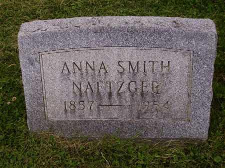 NAFTZGER, ANNA - Wayne County, Ohio | ANNA NAFTZGER - Ohio Gravestone Photos