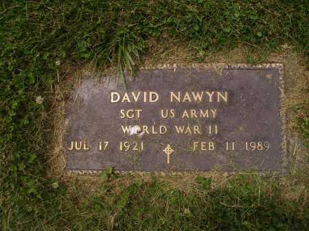 NAWYN, DAVID - MILITARY - Wayne County, Ohio | DAVID - MILITARY NAWYN - Ohio Gravestone Photos