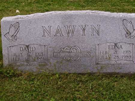 NAWYN, DAVID - Wayne County, Ohio | DAVID NAWYN - Ohio Gravestone Photos
