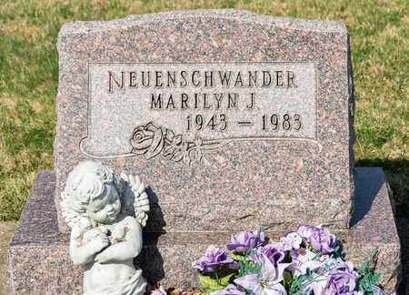 NEUENSCHWANDER, MARILYN J - Wayne County, Ohio | MARILYN J NEUENSCHWANDER - Ohio Gravestone Photos
