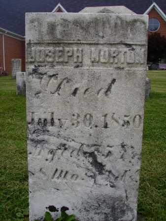 NORTON, JOSEPH - Wayne County, Ohio | JOSEPH NORTON - Ohio Gravestone Photos