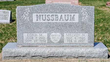 NUSSBAUM, EDNA M - Wayne County, Ohio | EDNA M NUSSBAUM - Ohio Gravestone Photos
