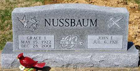 NUSSBAUM, GRACE I - Wayne County, Ohio | GRACE I NUSSBAUM - Ohio Gravestone Photos