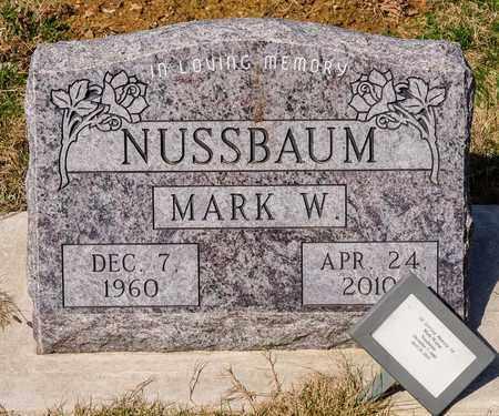 NUSSBAUM, MARK W - Wayne County, Ohio | MARK W NUSSBAUM - Ohio Gravestone Photos