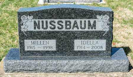 NUSSBAUM, MILLEN - Wayne County, Ohio   MILLEN NUSSBAUM - Ohio Gravestone Photos