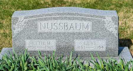 NUSSBAUM, NETTIE M - Wayne County, Ohio | NETTIE M NUSSBAUM - Ohio Gravestone Photos