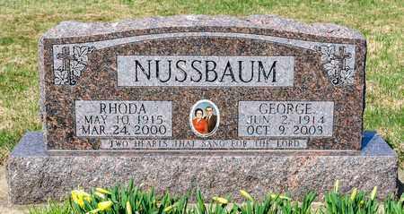 NUSSBAUM, RHODA - Wayne County, Ohio | RHODA NUSSBAUM - Ohio Gravestone Photos