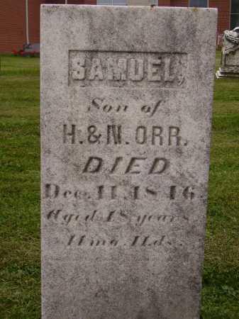 ORR, SAMUEL - Wayne County, Ohio | SAMUEL ORR - Ohio Gravestone Photos