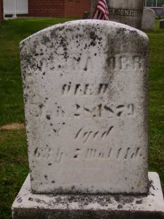 ORR, UNREADABLE - Wayne County, Ohio | UNREADABLE ORR - Ohio Gravestone Photos