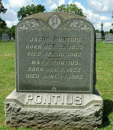PONTIUS, JACOB - Wayne County, Ohio   JACOB PONTIUS - Ohio Gravestone Photos