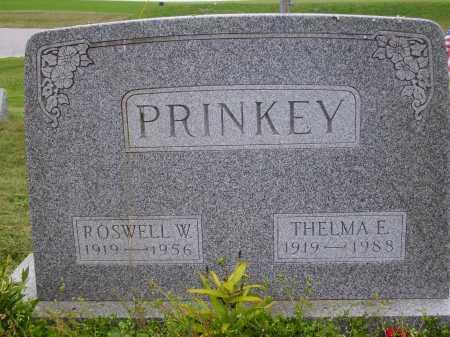 PRINKEY, ROSWELL W. - Wayne County, Ohio | ROSWELL W. PRINKEY - Ohio Gravestone Photos