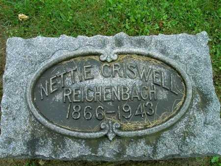 REICHENBACH, NELLIE - Wayne County, Ohio | NELLIE REICHENBACH - Ohio Gravestone Photos