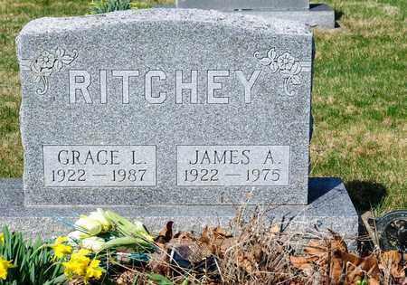 RITCHEY, JAMES A - Wayne County, Ohio | JAMES A RITCHEY - Ohio Gravestone Photos