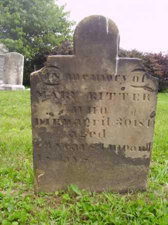 RITTER, MARY - Wayne County, Ohio | MARY RITTER - Ohio Gravestone Photos