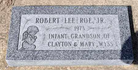 ROE JR, ROBERT LEE - Wayne County, Ohio | ROBERT LEE ROE JR - Ohio Gravestone Photos