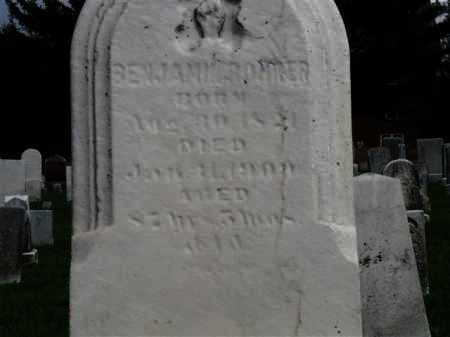 ROHRER, BENJAMIN - Wayne County, Ohio | BENJAMIN ROHRER - Ohio Gravestone Photos