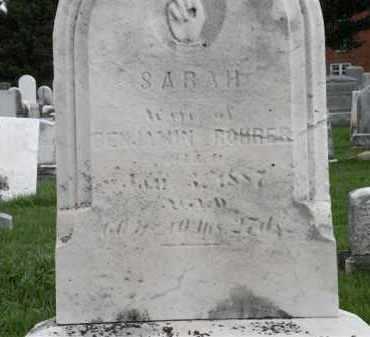 ROHRER, SARAH - Wayne County, Ohio | SARAH ROHRER - Ohio Gravestone Photos