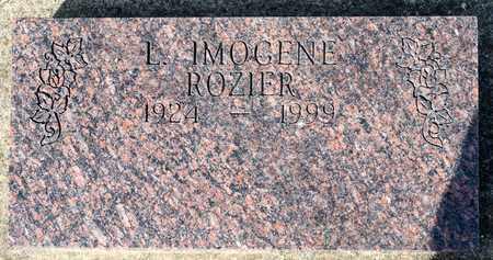 ROZIER, L IMOGENE - Wayne County, Ohio | L IMOGENE ROZIER - Ohio Gravestone Photos