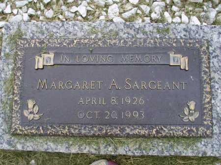 SARGEANT, MARGARET ARLENE - Wayne County, Ohio | MARGARET ARLENE SARGEANT - Ohio Gravestone Photos