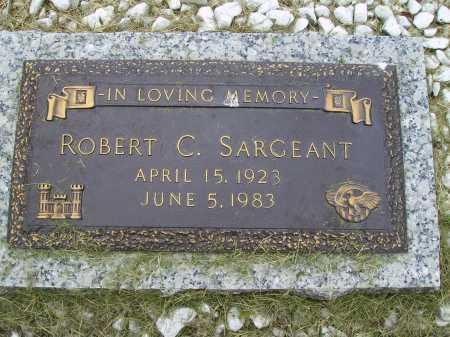 SARGEANT, ROBERT C. - Wayne County, Ohio   ROBERT C. SARGEANT - Ohio Gravestone Photos